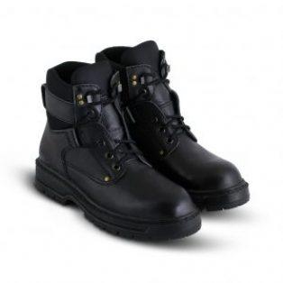 Sepatu Safety Kulit