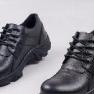 Sepatu safety slip on tali