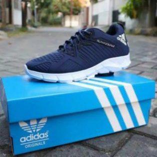 Sepatu sport pria adidas alphabounce casual sneaker