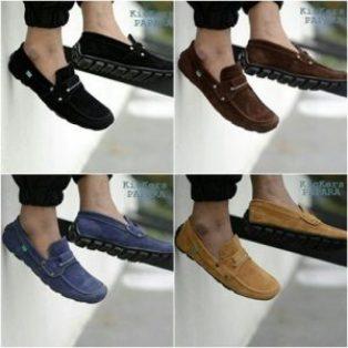 Sepatu pria casual slop kickers