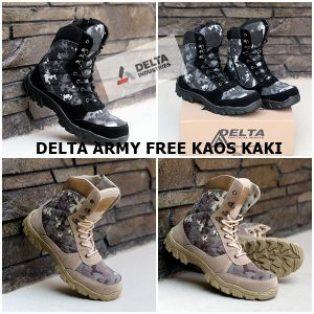 Sepatu Pdl delta army