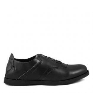 Sepatu pria casual formal sauqi spancer black