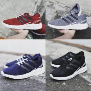 Sepatu sport pria adidas fast olahraga
