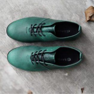 Sepatu casual formal pria sauqi vegas kulit