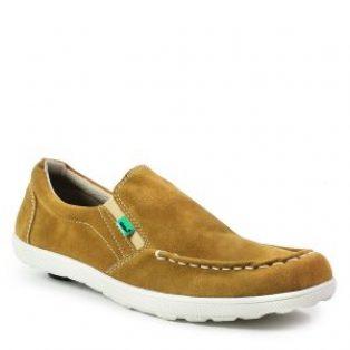Sepatu slop pria kickers askos tan