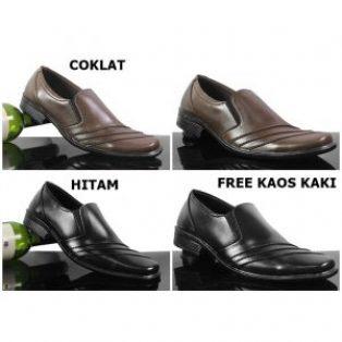 Sepatu pantofel pria crocodile