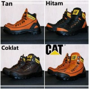 Sepatu boots safety caterpilar