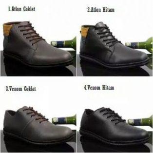 Sepatu formal casual pria kickers alton venom