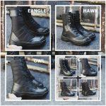 Sepatu PDL black forcer