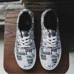 Sepatu casual sneakers vans motif koran