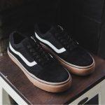 Sepatu vans oldskool black sol gum sneaker