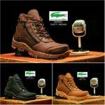 Sepatu boots safety crocodile morisey